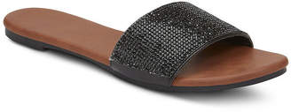MIXIT Mixit Womens Bling Slide Sandals