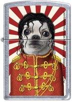 Zippo 50810675 Lighter with Pets Rock Dog Michael Design