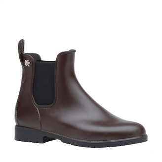 Le Lab - Brown Rain Boots - plastic | 36 (3.5)