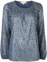 MICHAEL Michael Kors leaves print blouse - women - Polyester - XS