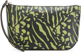 Furla printed make-up bag - women - Calf Leather - One Size