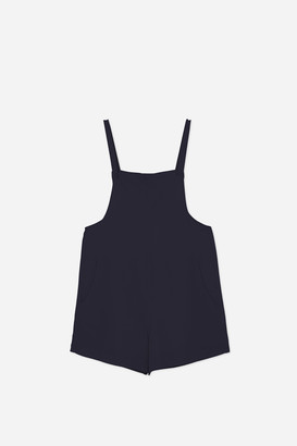 Hutspot - Navy Womens Playsuit - xs | linen | navy - Navy