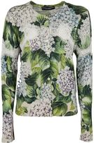 Dolce & Gabbana Hydrangea Knitted Jumper