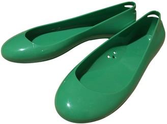 Kartell Green Rubber Ballet flats