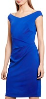 Lauren Ralph Lauren Petites Off-The-Shoulder Sheath Dress