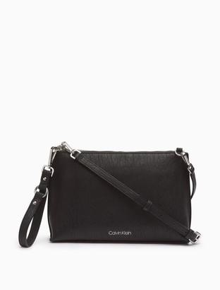 Calvin Klein Textured Grain Crossbody Bag