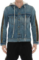 Greg Lauren Denim Royal Hooded Trucker Jacket