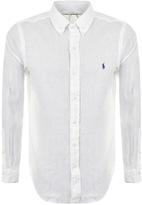 Ralph Lauren Linen Shirt White