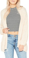 Miss Selfridge Slouchy Knitted Open-Front Cardigan