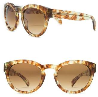 Raen Strada 52mm Round Sunglasses