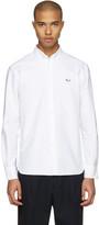 MAISON KITSUNÉ White Fox Patch Shirt