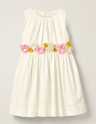 Floral Corsage Dress
