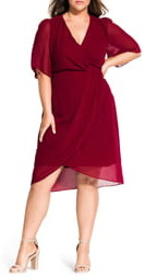 City Chic Twist Love Dress