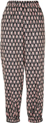 Christian Wijnants Paarl geometric printed trousers