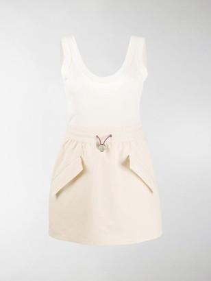 MONCLER GENIUS Drawcord Waist Mini Dress