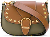 Marc Jacobs Embellished Navigator saddle - women - Leather - One Size