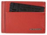 Burberry Men's 'Bernie' Leather Card Case - Red