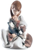 Lladro Collectible Figurine, Cat Nap