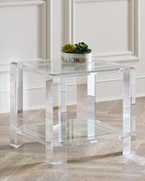 Interlude Home Langston Acrylic Side Table