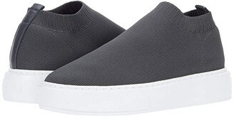 J/Slides Daphnie (Black Knit) Women's Shoes