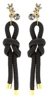 Marni Cord And Crystal Earrings