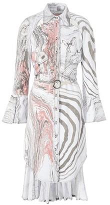 Thebe Magugu Suminagashi shirt dress