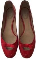 Chloé Leather Varnish Ballet Flats