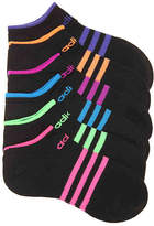 adidas Superlite Toddler & Youth No Show Socks - 6 Pack - Girl's
