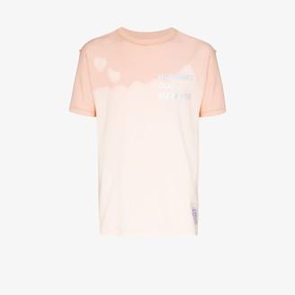 Satisfy Pink reverse cotton T-shirt