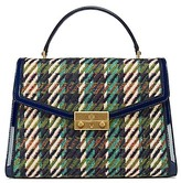 Tory Burch Juliette Tweed Top-Handle Satchel