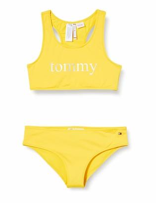 Tommy Hilfiger Girls' Bralette Swimwear Set