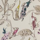 Osborne & Little - Zagazoo Collection - Cockatoos Wallpaper - W606003