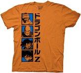 Ripple Junction Dragon Ball Z Goku and Company Adult T-Shirt