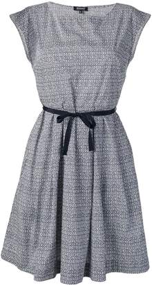 Woolrich printed popeline dress