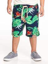 Old Navy Printed Canvas Pull-On Shorts for Toddler Boys