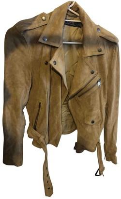 Polo Ralph Lauren Beige Suede Jacket for Women