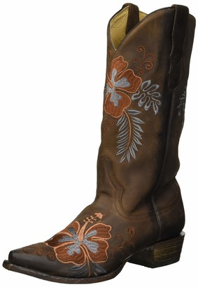 Stetson Women's Aloha Western Boot Brown 1 7.5 Medium US