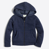 J.Crew Factory Girls' fleece full-zip hoodie