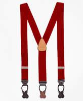 Brooks Brothers Solid Suspenders