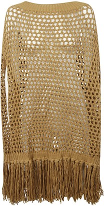 DSQUARED2 Knitted Perforated Cape