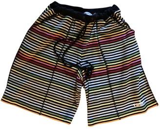Sonia Rykiel \N Multicolour Cotton Shorts for Women Vintage