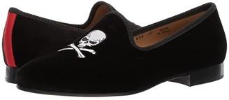 Del Toro Prince Loafer (Black Skull) Men's Slip on Shoes