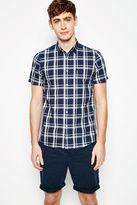 Jack Wills Stableton Ss Check Shirt