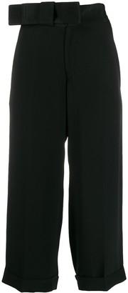 Yohji Yamamoto Pre-Owned 1990s Ribbon Waist Trousers