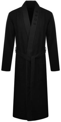 Boss Business BOSS Waffle Kimono Bath Robe Black