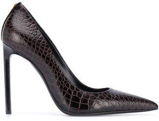Tom Ford Crocodile-Effect Pumps