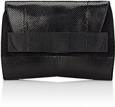 Narciso Rodriguez Women's Jaq Python Clutch-Black