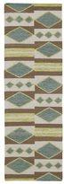Tribeca Flatweave Multi Wool Rug (2'6 x 8')