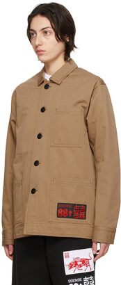 SSENSE WORKS SSENSE Exclusive 88rising Brown Workwear Chore Jacket