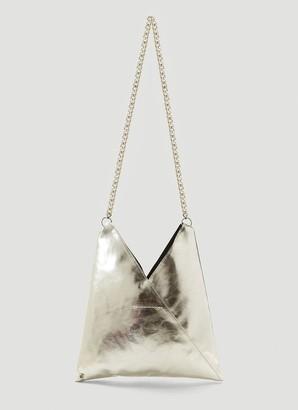 MM6 MAISON MARGIELA Metallic Chain Strap Crossbody Bag